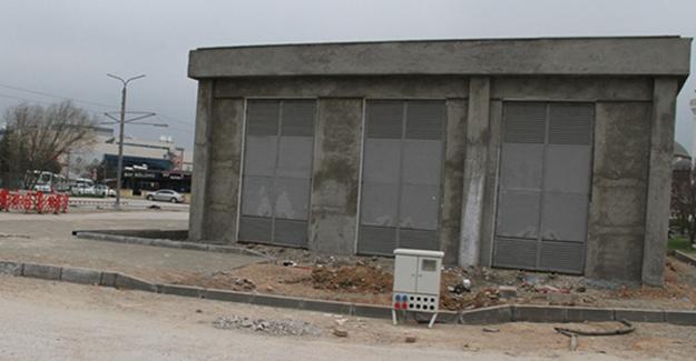 Akçaray'da trafo binaları tamamlanıyor