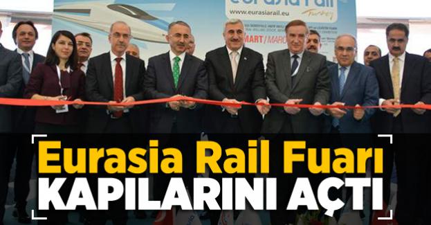 Eurasia Rail Fuarı kapılarını 7. kez ziyaretçilerine açtı
