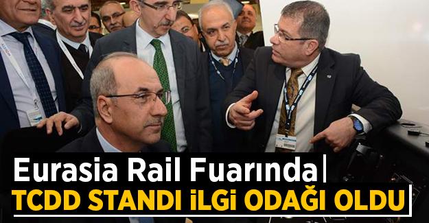 Eurasia Rail fuarında TCDD standı ilgi odağı oldu