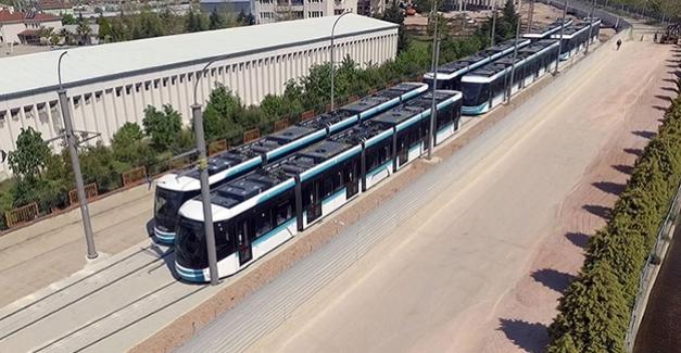 Akçaray'ın altıncı tramvayı kente geldi