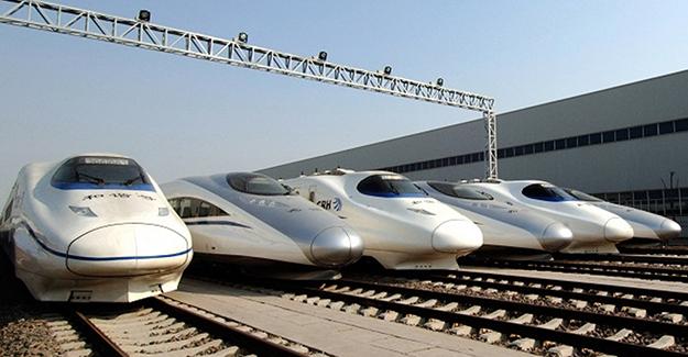 Çin Malezya'ya 22 Hızlı Tren Seti Satacak