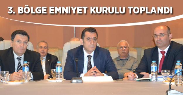 TCDD İzmir 3. Bölge Emniyet Kurulu Toplantısı Gerçekleştirildi