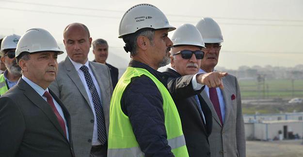 Vali Şahin, Samsun Lojistik köy Çalışmalarını İnceledi
