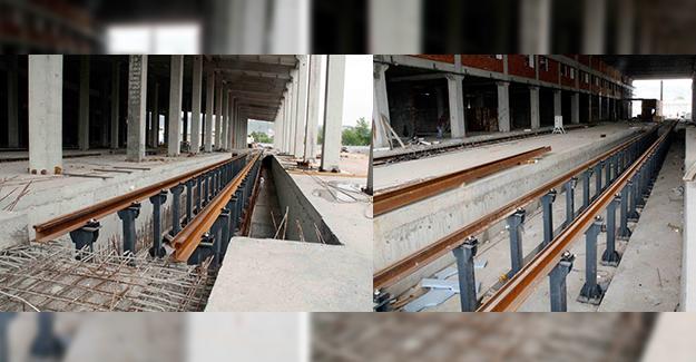 Akçaray tramvay atölye binasında sona gelindi