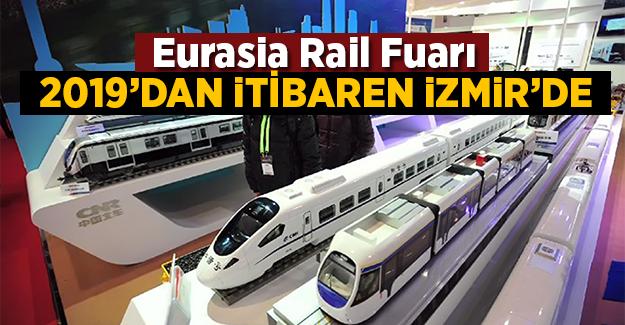 Eurasia Rail 2019'dan itibaren İzmir'de