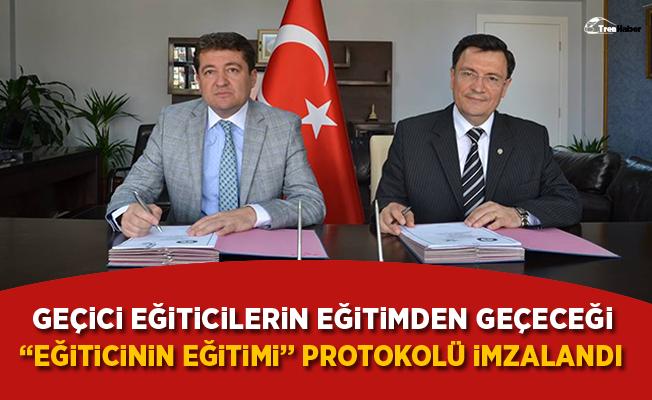 """İzmir'de """"Eğiticinin Eğitimi"""" protokolü imzalandı"""