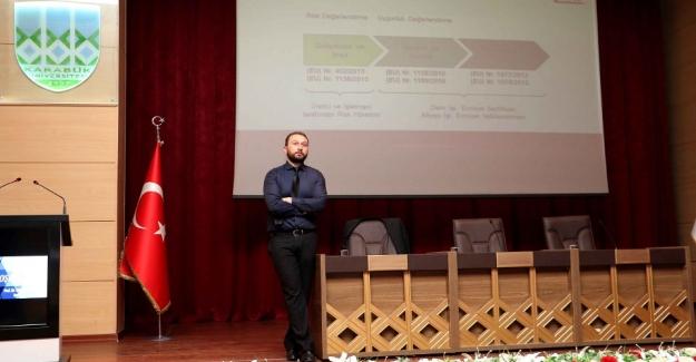 KBÜ'de 'Raylı Sistemlerde Test ve Belgelendirme' Eğitimi
