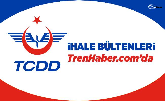 TCDD 7. Bölge Müdürlüğü'nden 31 adet makas ferşi ihalesi
