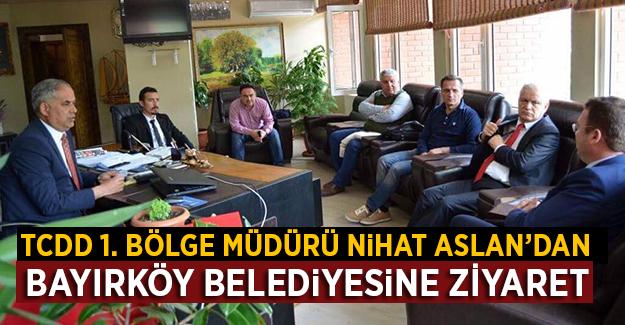 Nihat Aslan'dan, Bayırköy Belediyesi'ne Ziyaret