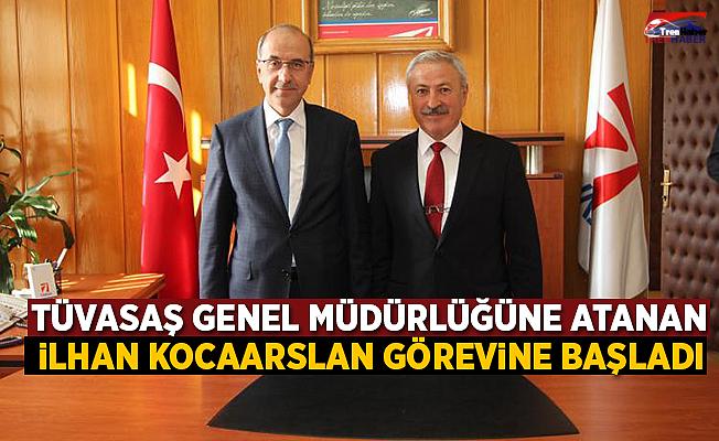 TÜVASAŞ Genel Müdürlüğü'ne  atanan İlhan Kocaarslan görevine başladı