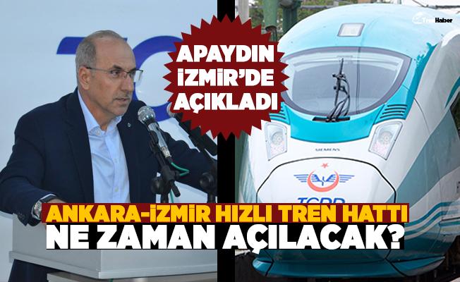 Ankara-İzmir hızlı tren hattı ne zaman açılacak?
