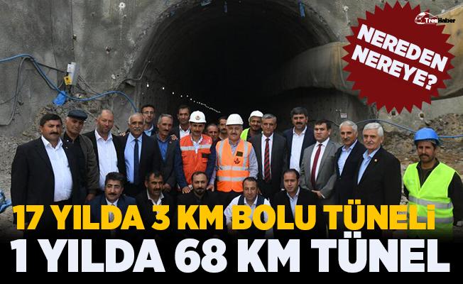 Bakan Arslan: Yılda 68 kilometre tünel bitiren bir ülke durumuna geldik
