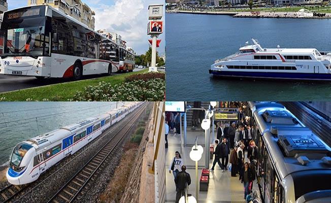 Bayramda İzmir'de toplu taşıma ücretleri yüzde 50 indirimli