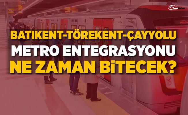 """CHP'li Gök: """"Batıkent–Törekent–Çayyolu metro entegrasyonu ne zaman bitecek"""""""
