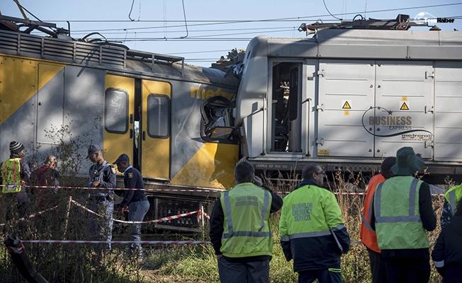 Güney Afrika'da tren kazası! 1 ölü, 50 yaralı
