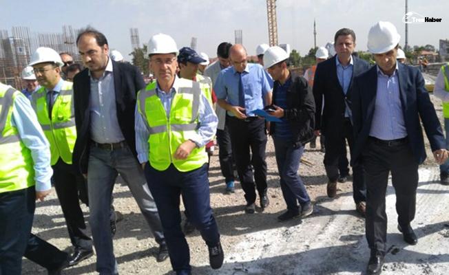 İsa Apaydın Konya'da TCDD Projelerini İnceledi
