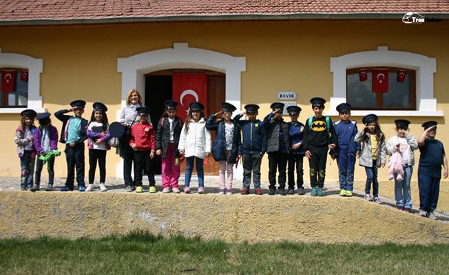 Malıköy istasyon müzesine ziyaretçi akını