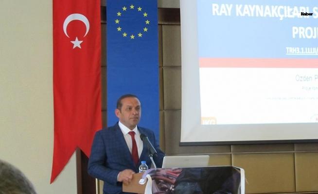 Ray Kaynakçıları Sertifikalanıyor Projesi Sivas'ta tanıtıldı