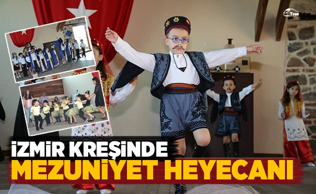 TCDD İzmir Kreşinde Mezuniyet Heyecanı