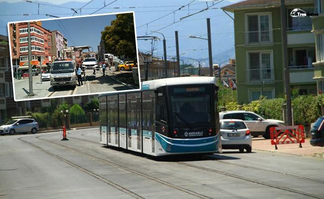 Akçaray tramvay hattına park eden araçlara ceza