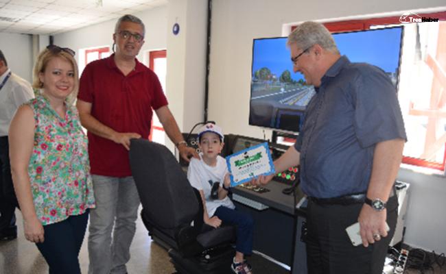 Minik Ata İzmir Metro ile hayaline kavuştu