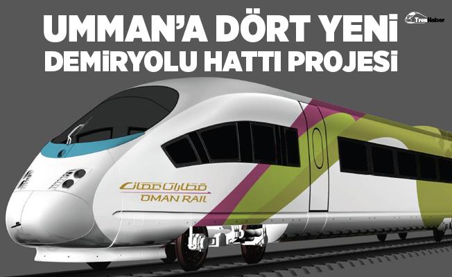 Umman'a Dört Yeni Demiryolu Hattı Projesi