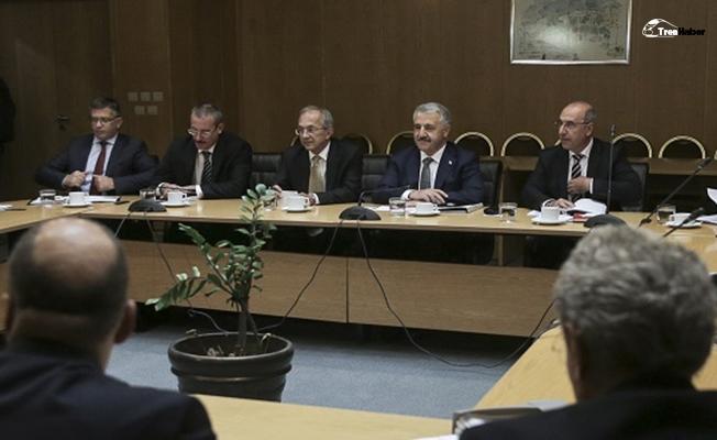 Bakan Arslan: Yapacağımız iş birlikleri ve projelerin birbirini tamamlaması önemli