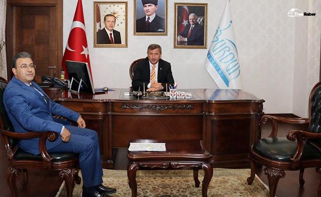 Bölge Müdürü Sivri, Burdur Valisi Yılmaz'ı Ziyaret Etti