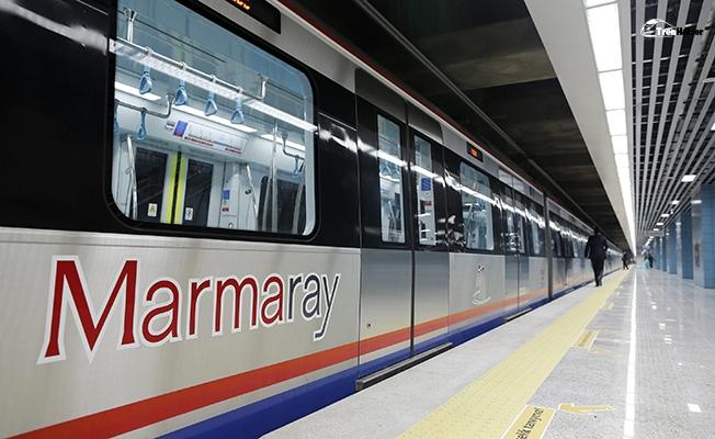 Marmaray'da 4 Yılda Rekor Yolcu Sayısı