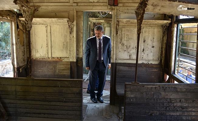 Nazilli'nin simgesi Gıdı Gıdı treninin vagonları restore edilecek