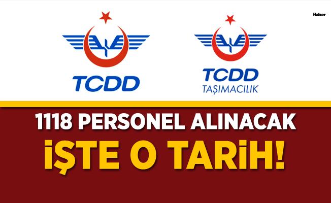 TCDD 1118 Personel alacak! İşte o tarih