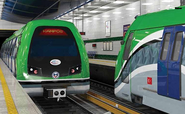 Üniversite kampüsünden geçen ilk metro olacak