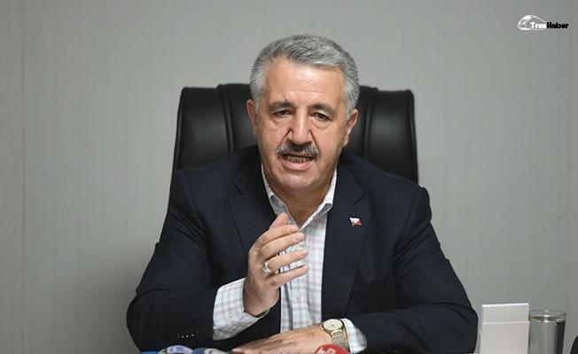 Ankara-Uşak hızlı treni 2019'da tamamlanacak
