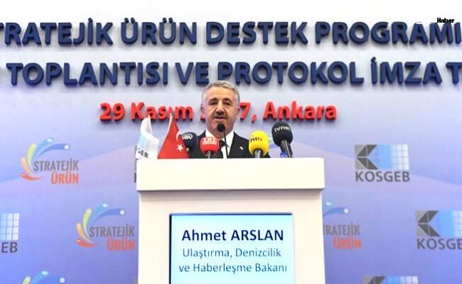 Bakan Arslan: Ülkenin her yerini şantiye haline getirdik
