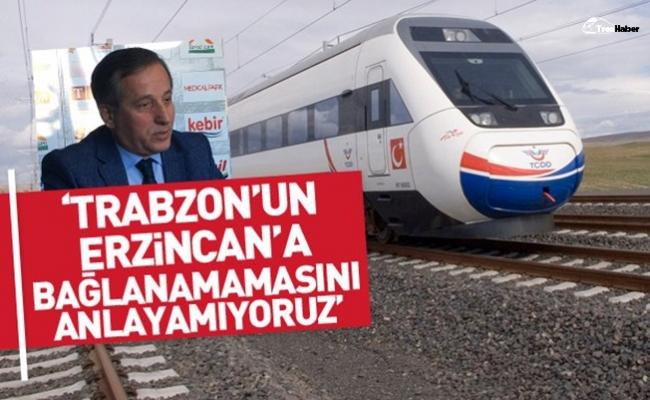 Kobider Başkanı Özgenç: Trabzon demiryolu projesinde 'tık' yok