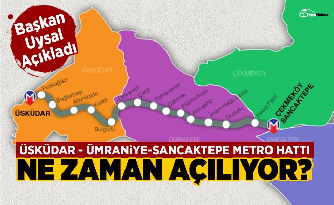 Üsküdar-Çekmeköy-Sancaktepe metrosu ne zaman açılıyor? - İşte cevabı