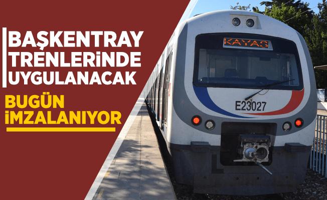 BaşkentRay'da Ankarakart kullanılacak