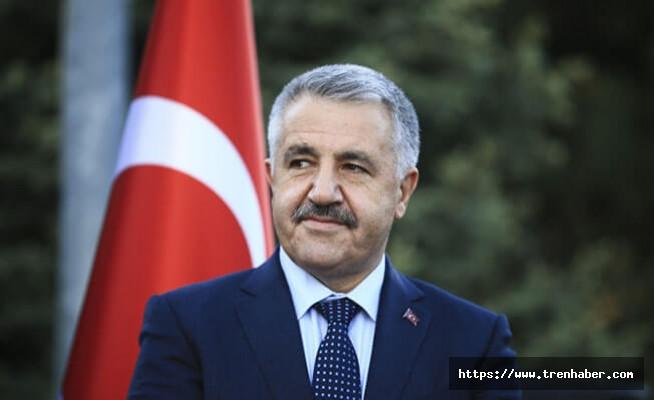 Ulaştırma Bakanı Arslan'dan yeni yıl mesajı
