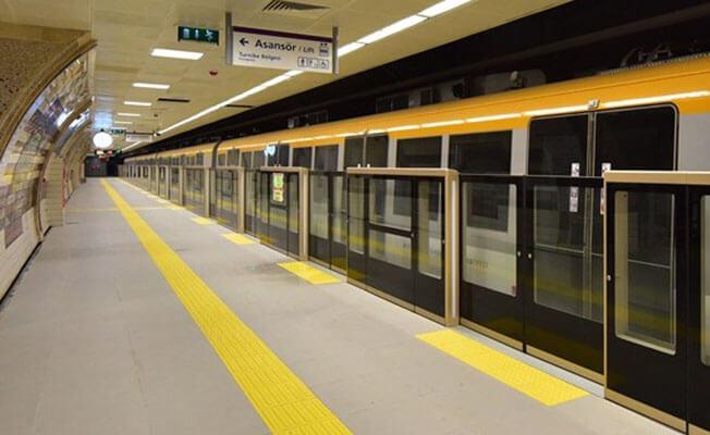 Üsküdar-Yamanevler metro hattını 4 günde 292 bin kişi kullandı