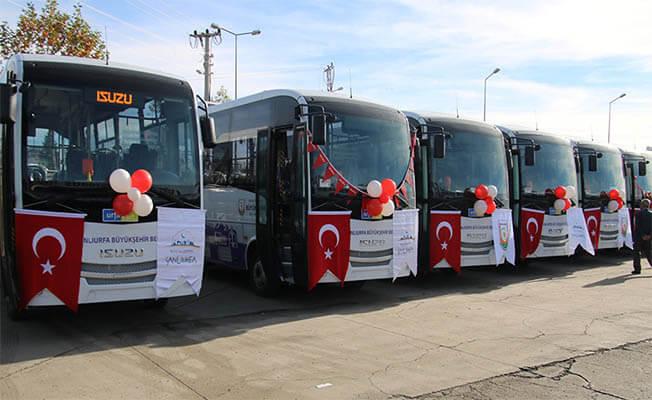 Yeni halk otobüsleri hizmet vermeye başladı - Şanlıurfa Haberleri