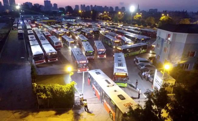 Otobüslerin gece seferleri başlıyor