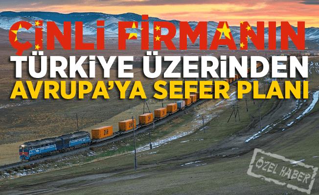 Çinli firma Türkiye üzerinden Avrupa'ya yeni tren seferleri koymayı planlıyor