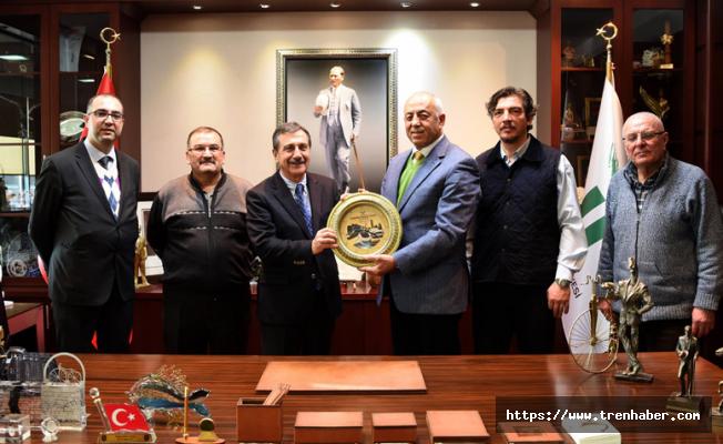 DECEV'den Tepebaşı Belediye Başkanı Ataç'a Ziyaret