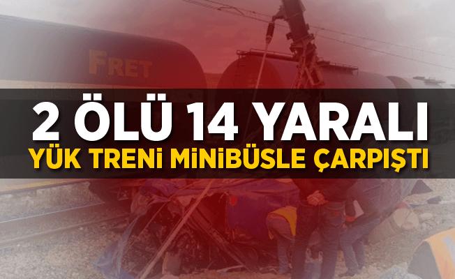 Fas'ta tren minibüsle çarpıştı! 6 kişi öldü 14 kişi yaralandı