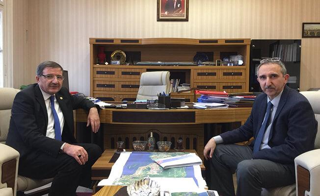Kocaeli Milletvekili Şeker'den TCDD'ye ziyaret