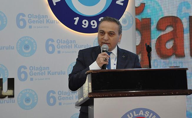 Nurullah Albayrak Türk Ulaşım Sen Genel Başkanı Oldu!