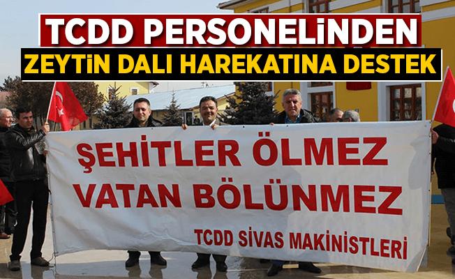 TCDD Personelinden Zeytin Dalı Harekatı'na destek