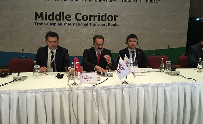 Trans-Hazar Uluslararası Taşımacılık Toplantısı Ankara'da Başladı