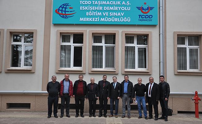 Albayrak, Eskişehir'de istişarelerde bulundu
