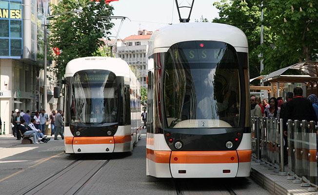 Eskişehir'de tramvay saatleri değişti